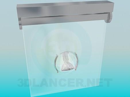 modelo 3D Luminaria con ángulo de iluminación ajustable - escuchar