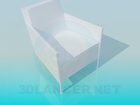 3d моделирование Кресло на тонких ножках модель скачать бесплатно