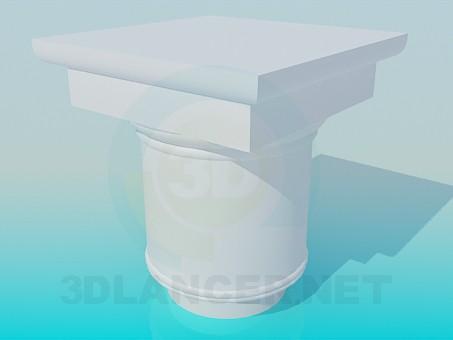 3d model Column cap - preview