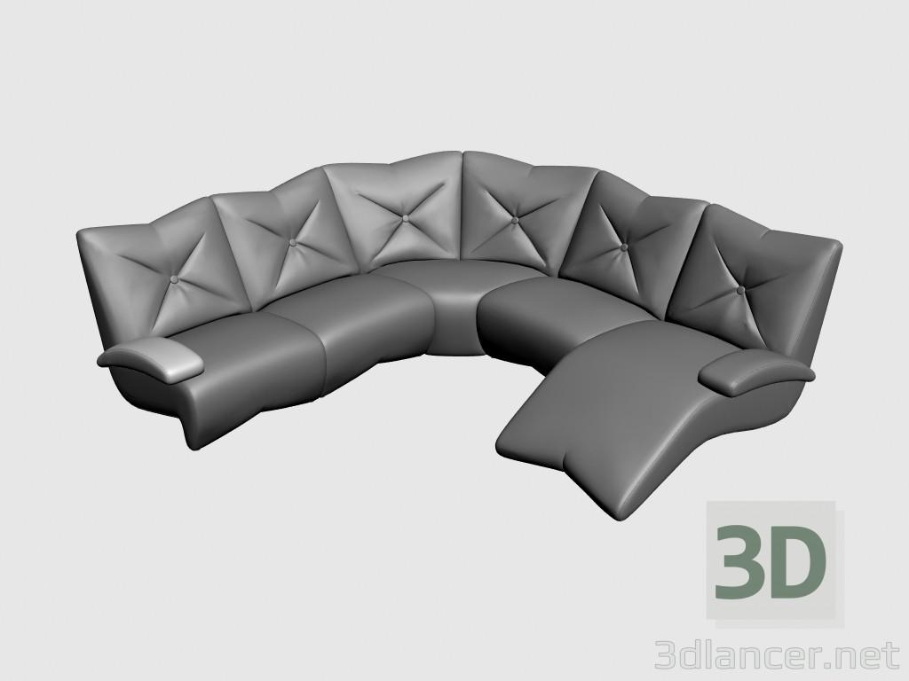 3d model Sofa corner Ustin II - preview