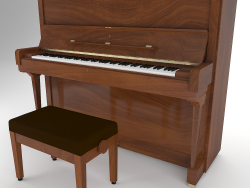 Modelo 3D Piano Steinway And Sons V-125