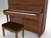 Piano Steinway And Sons V-125 3D model
