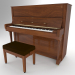 3d Piano Steinway And Sons V-125 3D model model buy - render
