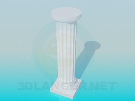3d model Column - preview