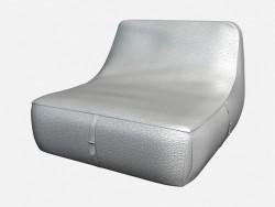 Sofá de couro Art Deco Olivieri