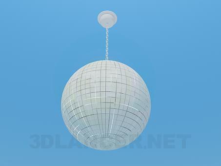 modelo 3D Bola de espejos de discoteca - escuchar