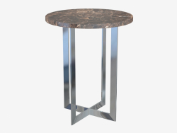 Coffee table BYRON lamp table (d500)