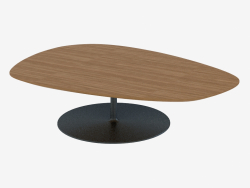 Coffee table on a round stand