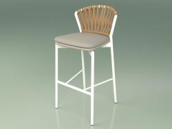 Bar stool 150 (Metal Milk, Polyurethane Resin Mole)