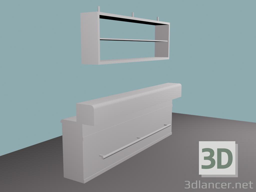 3d model Bar - preview