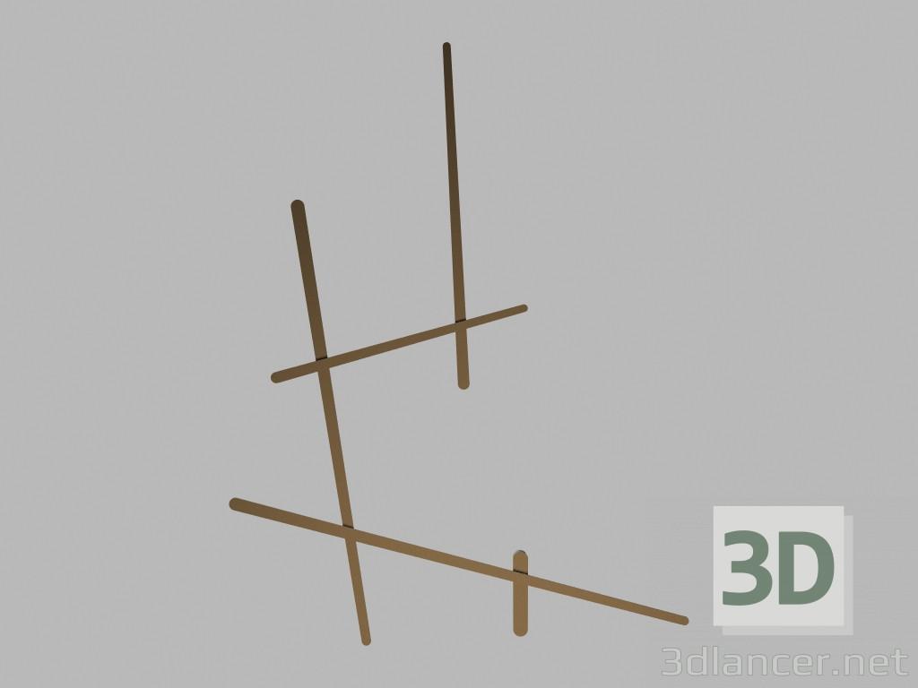 Modèle 1705dvibia Max 2012Gratuit Murale 3d Applique KF1Jcl