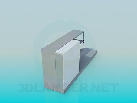 3d модель Взуттєва підставка – превью