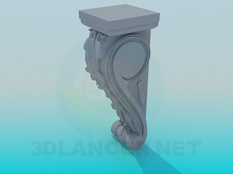 modelo 3D Calado - escuchar