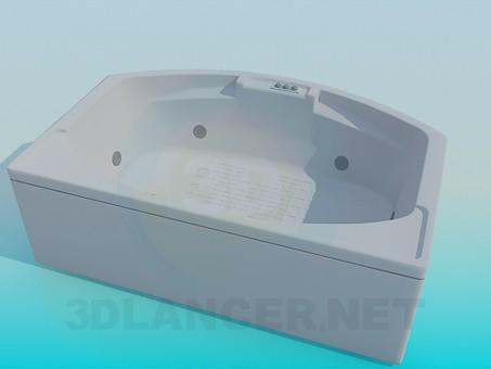 modelo 3D Baño grande - escuchar