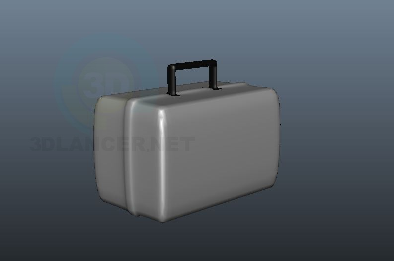 3d model Suitcase - preview
