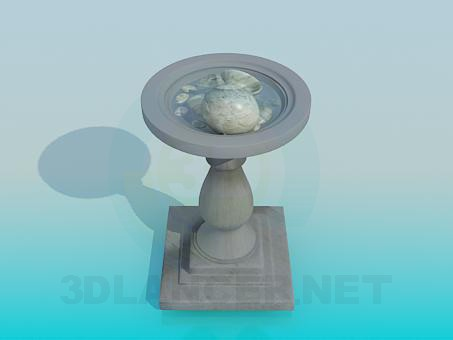 3d modeling Fountain park model free download