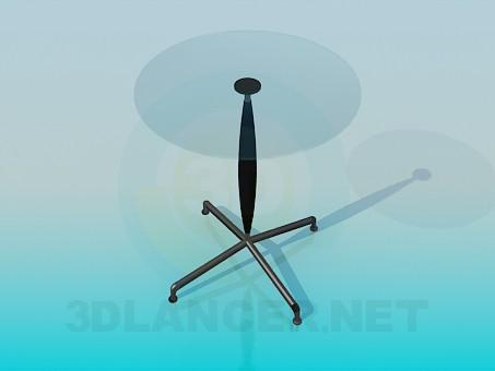 3d модель Столик декоративный – превью