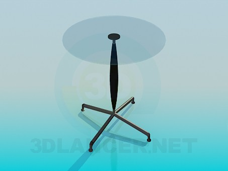 modelo 3D Decoración de la mesa - escuchar