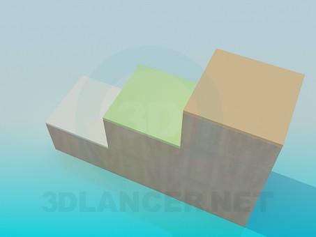 3d model Child bedroom furniture - preview