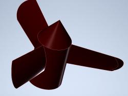 RC boat propeller