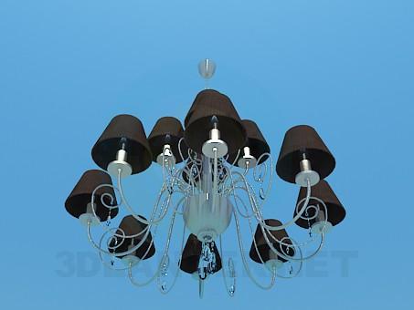 modelo 3D Lámpara clásica - escuchar