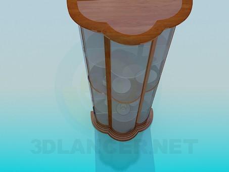 3d модель Витрина – превью