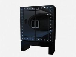 Glass Art Deco chest Redman