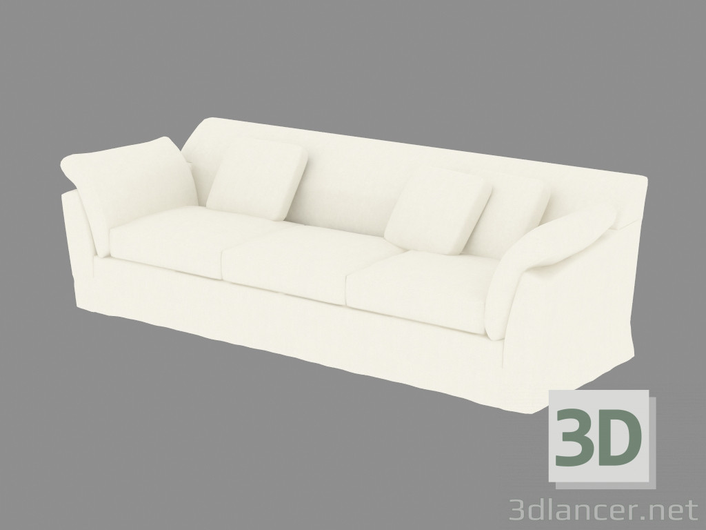 3d model sofa bed double manufacturer moroso id 19137 for Sofa bed 3d model