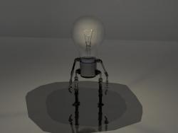 Robô de lâmpada