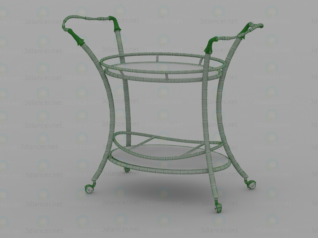 3d 4095, Serving table model buy - render