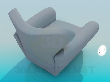 3d модель Кресло – превью