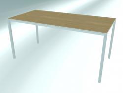 Table de bureau rectangulaire FRAME (P12 160X80 Н74)