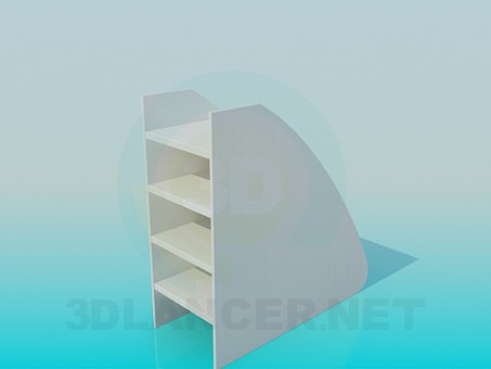3d model Cabinet-rung for children's bedrooms - preview