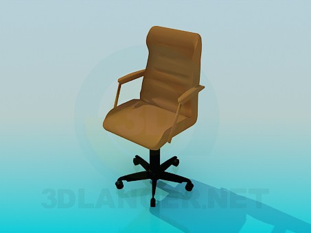 3d model Armchair in tht office - preview