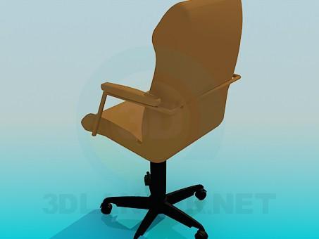 modelo 3D Sillón de oficina de tht - escuchar