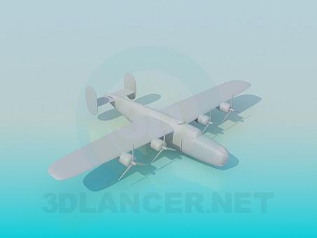 3d моделирование Военный самолет модель скачать бесплатно