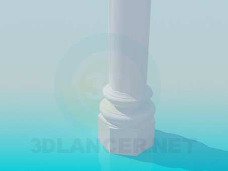 modelo 3D Columna - escuchar