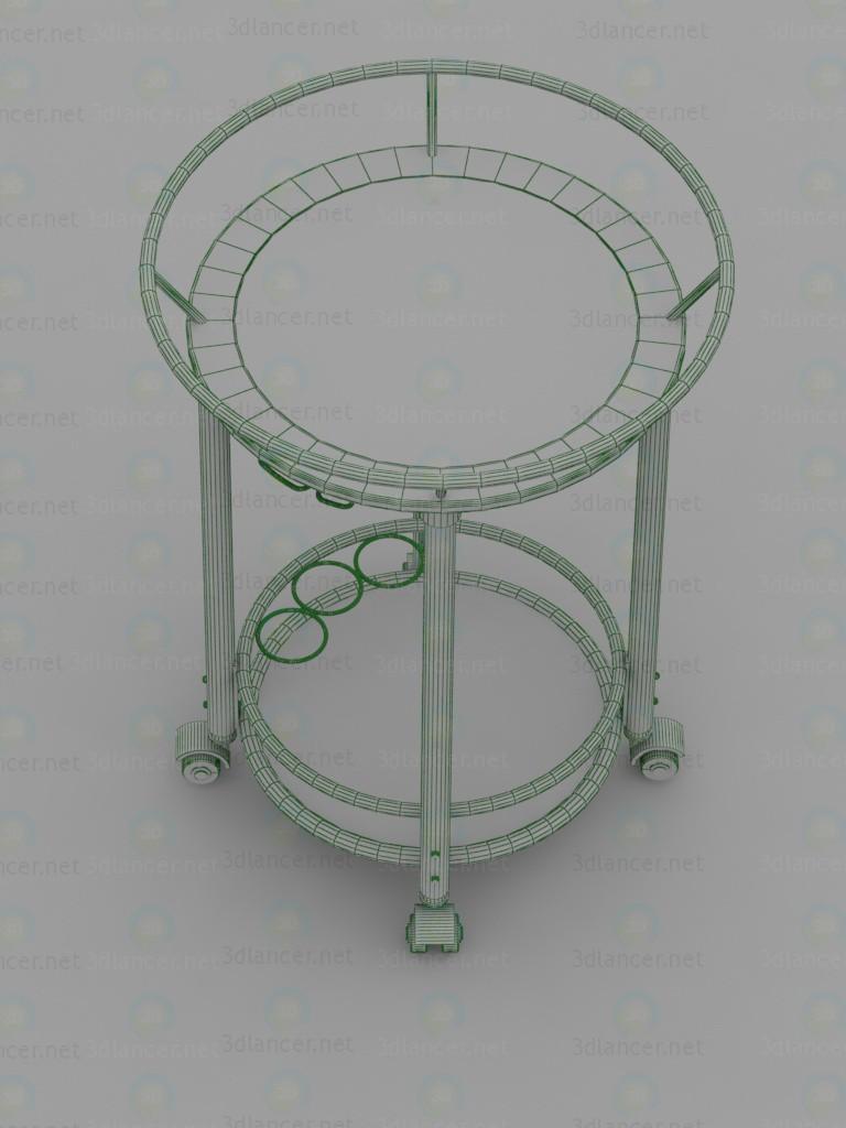 3d 4097, Serving table model buy - render