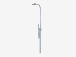 Stand-alone shower faucet with hand shower One (112086)