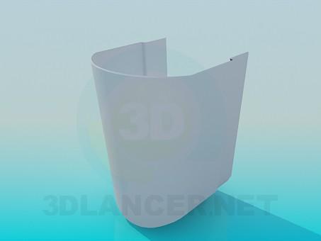 modelo 3D Elemento de la pila - escuchar