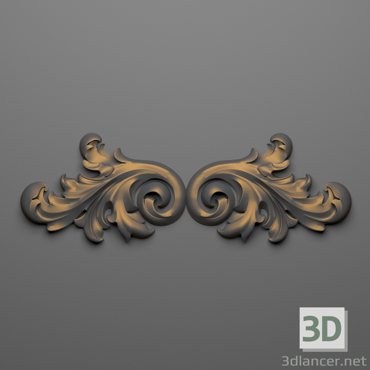 3d Decor 61 model buy - render