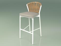 Bar stool 150 (Metal Milk, Polyurethane Resin Gray)
