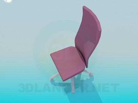 modelo 3D Silla de las mujeres sobre ruedas - escuchar