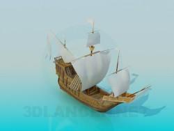 Корабель вітрильний