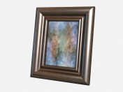 Small picture frame Decor Small leather photo frame