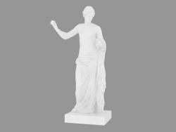 Scultura in marmo Venus d'Arles