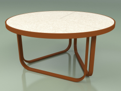 Coffee table 009 (Metal Rust, Gres Ivory)