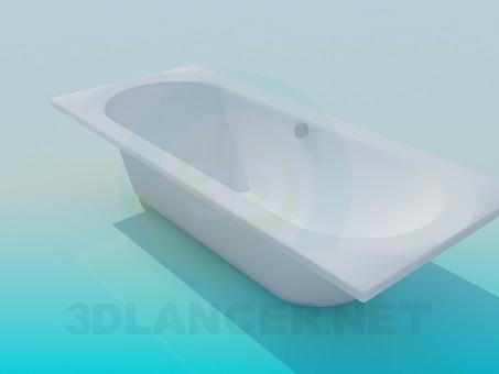 modelo 3D Baño estándar - escuchar