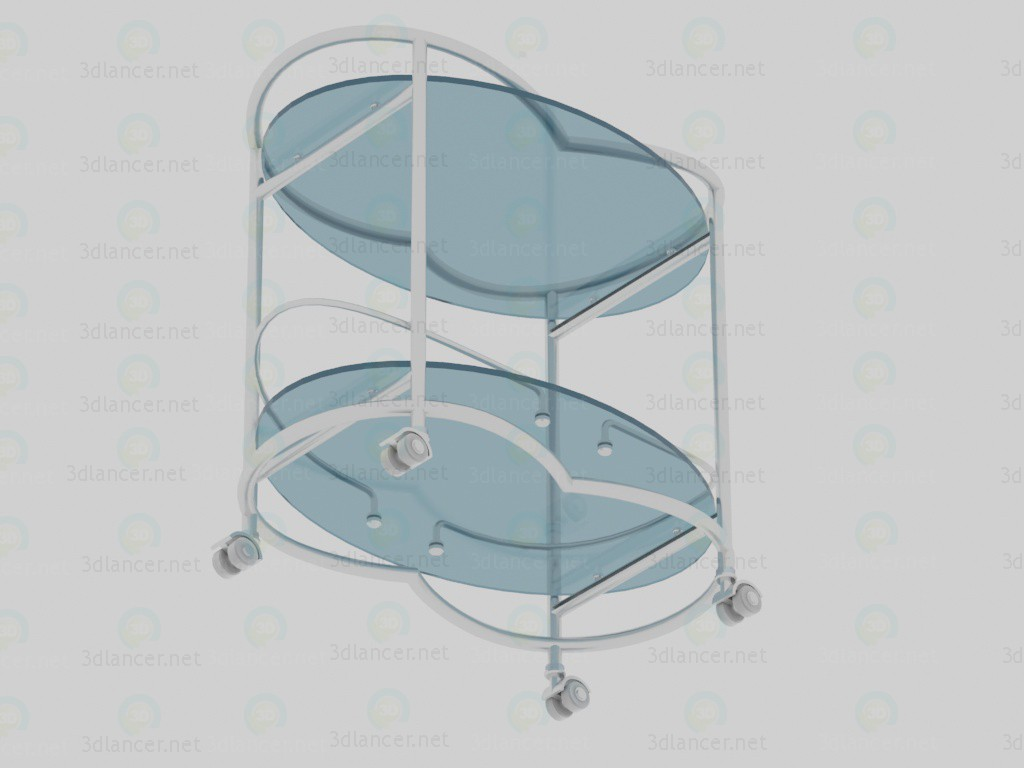 4098, Serving table paid 3d model by BurnOll preview