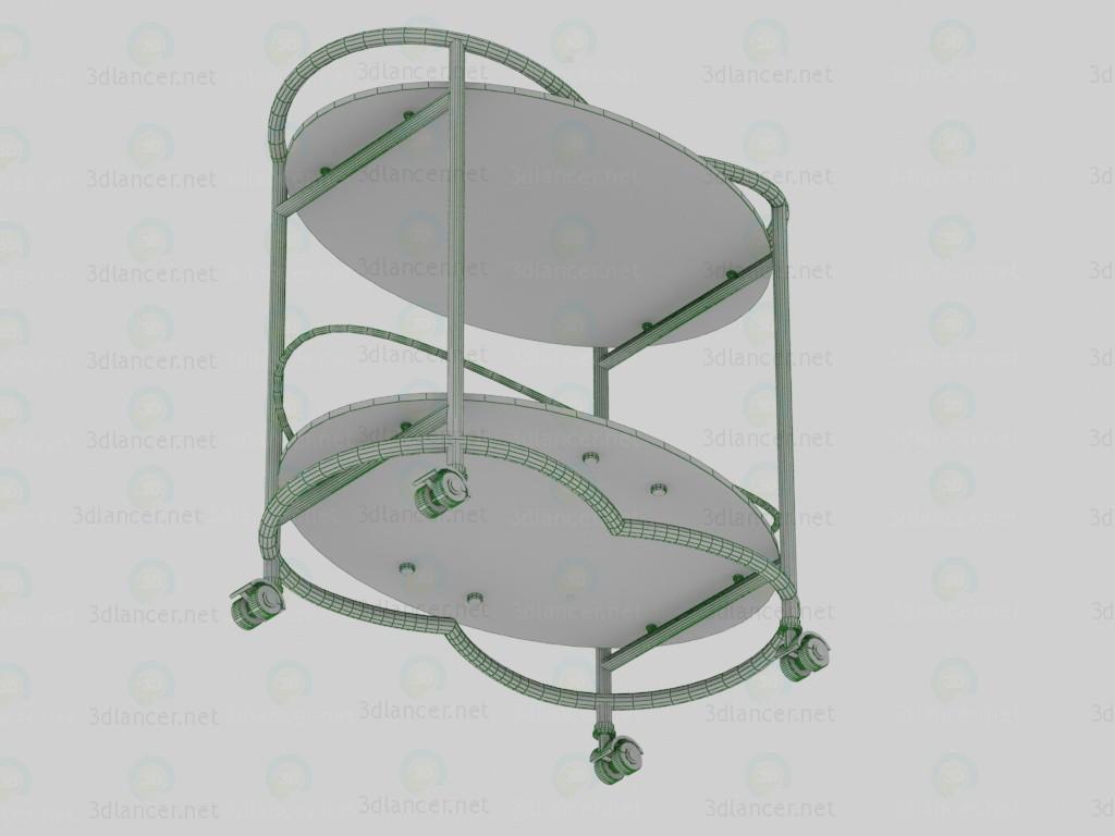 3d 4098, Стол сервировочный модель купить - ракурс